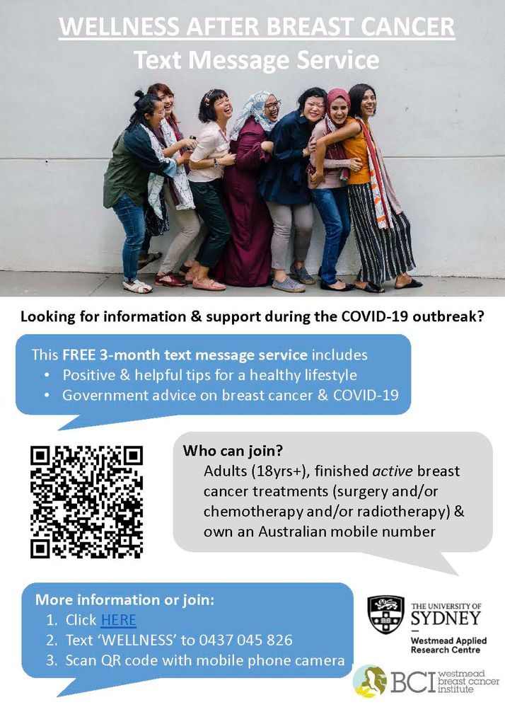 USYD Wellness After Breast Cancer Text Message Service During COVID-19.jpg